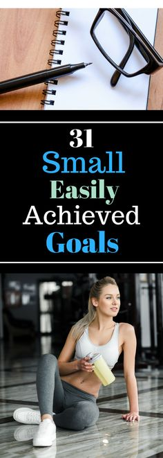 31 Small Easily Achieved Goals - Make this your BEST year!