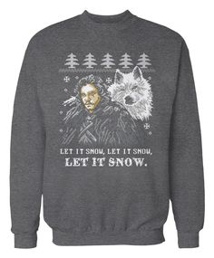 Ho ho hodor Ugly Christmas Sweater Game of Thrones by ApparelAreUs ...