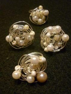 Ohrringe #perlen #diy # silberkugel #silber #selbstgemacht #schmuck ...