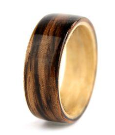 Simply Wood Rings: Mens Rings