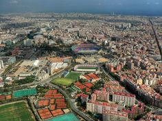 El Camp Nou, the FC Barcelona stadium