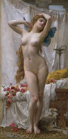 The Awakening of Psyche. By Guillaume Seignac. #goddess