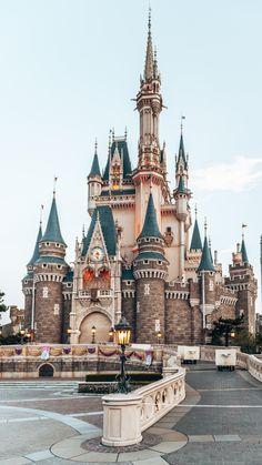 Disney Trips, Disney Parks, Walt Disney World, Disney Pixar, Disneyland Castle, Disneyland Secrets, Disneyland Nails, Disneyland Food, Tokyo Disneyland