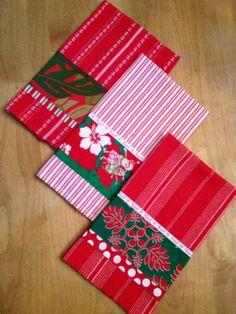 More Hawaiian Christmas towels!