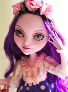 OOAK++Ever+After+High++Bunny+Blanc+++Repaint+by+kroll4ik+on+Etsy