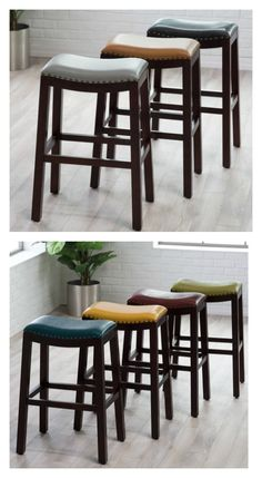 Julien Bar Amp Counter Stool For The Home Leather Bar