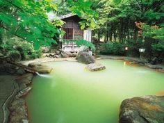 Hot Spring in Gifu, Japan Kyoto, Japanese Hot Springs, Beppu, Japanese Bath, Spring Spa, Outdoor Baths, Takayama, Gifu, Japan Travel