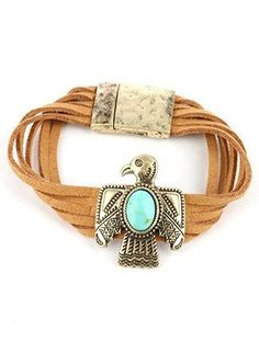 """""""Be a Force"""" Native Thunderbird Suede Bracelet"""