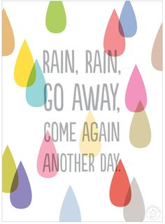 Found on Hellobee.com! mr printablerainraingoaway - and many more printables