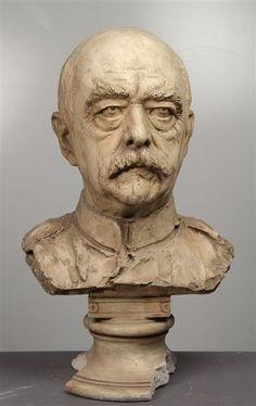Reinhold Begas (1831-1911) - Otto von Bismarck (1886)