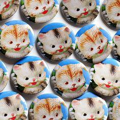 Popjes Art Buttons Cats and Dogs  www.popjesartshop.nl