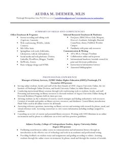 Cover Letter Librarian Application Review A Librarian Cover