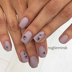 Best Matte Nails That You Will Love ★ See more: http://glaminati.com/best-matte-nails/ #beautynails