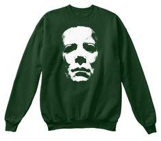 Perfect Halloween Shirt, Horror Costume Deep Forest T-Shirt Front Horror Shirts, Michaels Halloween, Halloween Sweatshirt, Deep Forest, Michael Myers, T Shirt Costumes, Hoodies, Sweatshirts, Tees