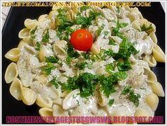 ΑΧΙΒΑΔΕΣ ΜΕ ΣΑΛΤΣΑ ΡΟΚΦΟΡ!!! | Νόστιμες Συνταγές της Γωγώς