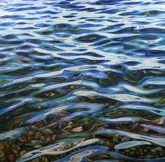 "Saatchi Art Artist Peter Goodhall; Painting, ""TRANQUILLITY  XV"" #art"
