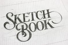 books, sketch book, sketchbook, sketches, type, ged palmer, design, typographi, hand lettering
