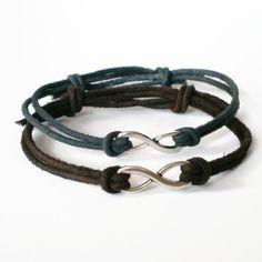 infinity+bracelet+friendship+bracelet+rocker+teen+by+jcudesigns,+£4.50