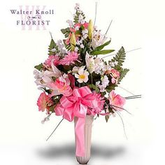 64 best funeral cemetery floral designs images on pinterest about think of you cemetery cone walter knoll florist st louis mo mightylinksfo