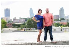 Downtown Raleigh engagement  |  Kellie + Shane
