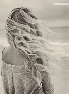 WATCHING THE OCEAN WITH THE WIND BREEZING THROUGH MY HAIR & AGAINST MY FACE.