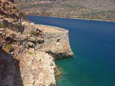 Spinalonga, off the island of Crete.