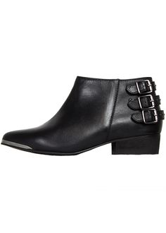 0d4cea6d6d6 Seychelle Leather Buckle Boots