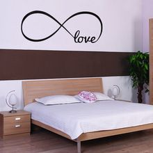 Personalized diy Symbol LOVE Bedroom Wall Decal Quotes Vinyl Wall Stickers for home room decoration(China (Mainland))