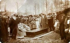 """Rare image, from funeral of the great Harriet Tubman, who died of pneumonia on March Before her death she told friends and family surrounding her death bed """"I go to prepare a place for you"""". Tubman was buried with military honors in the Auburn's Rare Images, Rare Photos, Vintage Photographs, Vintage Photos, Us History, African American History, History Facts, History Images, Harriet Tubman"""