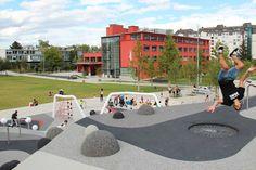 Gustave & Léonard Hentsch Park, Geneva, Switzerland by Hüsler & associés