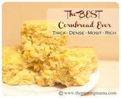 Good tasting and moist cornbread. (Jiffy Mix & Creamed Corn)