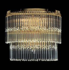 art deco lighting | ... Art Deco 2 Light Rounded Wall Light - C450.62/21 - Kolarz Lighting