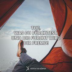 Ich habe meine Furcht am Wochenende beim Bergsteigen besiegt!   Wann hast Du das letzte Mal Deine Angst überwunden?