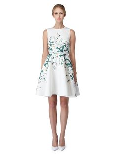 This Erin Fetherston dress is perfect for a wedding shower or rehearsal dinner.