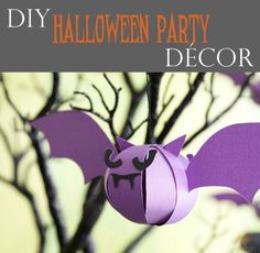DIY Halloween Tree Ornaments