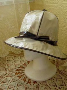 Vintage Rain Hat! I love this!