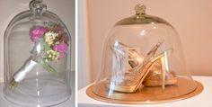 Tendência: Bell Jars - Redomas de vidro e 15 idéias para usá-las no casamento!!