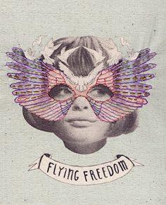 Embroidered masks Laura McKellar @utoopics