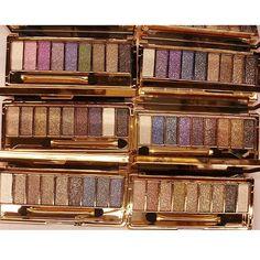 Palette 9 Fards a Paupieres Ombres Irisees Glitter Paillette Makeup  beaute-beauty.com #fards #palette #makeup #maquillage #yeux #beauty #tips