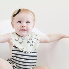 Bibs & Burp Cloths 2019 Latest Design Creative Baby Self Feeding Care Bandana Stylish Cotton Blend Baby Bib For Infants Baby Girls For 3 Months To 3 Years
