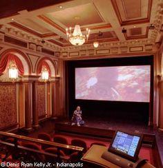 Home Theater - as seen on HGTV's Million Dollar Rooms (Carmel, IN)