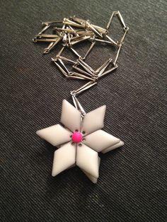 Homemade Flower Necklace