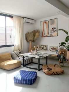 [ Tendance déco ] Modern tribal / Modern craft - New Ideas Home Decor Bedroom, Living Room Decor, Living Spaces, Home Interior, Interior Architecture, Interior Design, Deco Boheme Chic, Turbulence Deco, Home And Deco