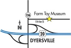 toy museum dyserville, ia