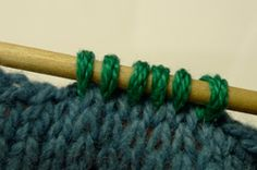 Picking Up Stitches: Cast-On or Bound-Off Edges - How To - Blogs - Knitting Daily