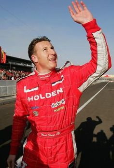 Mark Skaife - 5x Australian Touring Car Champion, 6x Bathurst 1000 winner, sometimes outspoken, Holden legend.