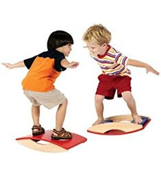 Guidecraft Smoothy Sanded Hardwood Balance Board