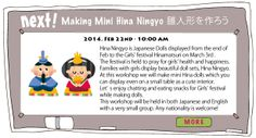 Make Japanese Hina Dolls Class