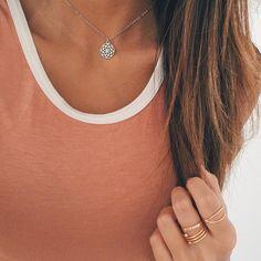 Blossom Mandala Necklace