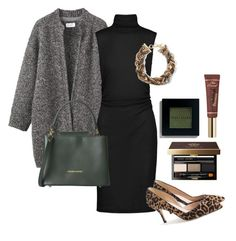 """business outfit two: evening"" by emma-495 on Polyvore featuring Toast, Kain, Banana Republic, Tuscany Leather, J.Crew, Bobbi Brown Cosmetics and Disney"
